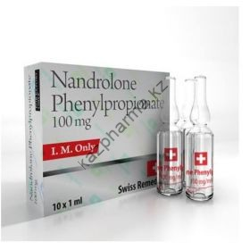 Нанролон фенилпропионат Swiss Remedies Nandrolone Phenylpropionate 10 ампул (100 мг/ 1 мл) Швейцария