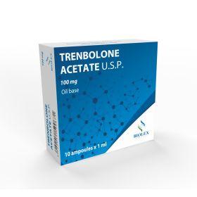 Тренболон ацетат Biolex 10 ампул (100 мг/1мл)
