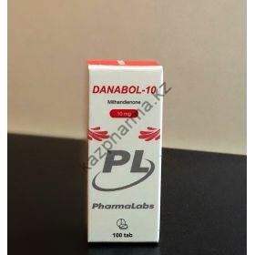 Метан Danabol - 10  PharmaLabs 100 таблеток (1 таб - 10 мг)